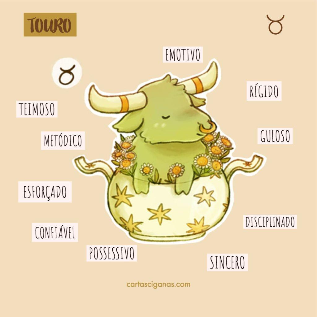 características touro