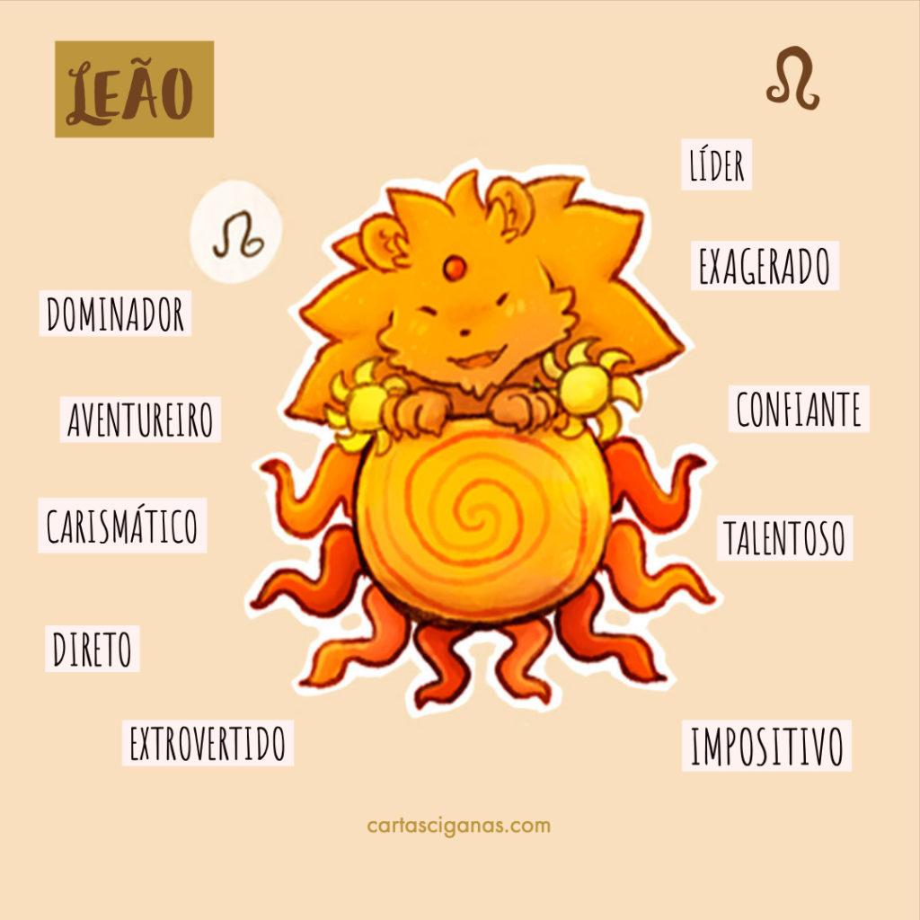 caracteristicas signo leão